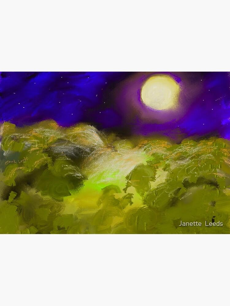 Landscape 1.C by JanetteLeedsArt