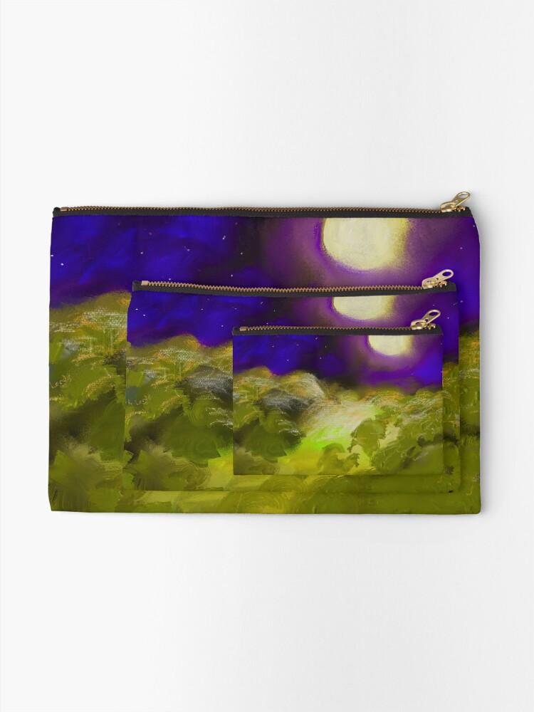 Alternate view of Landscape 1.C Zipper Pouch