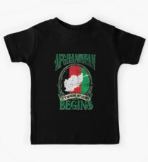 Afghanistan nationality Kids T-Shirt