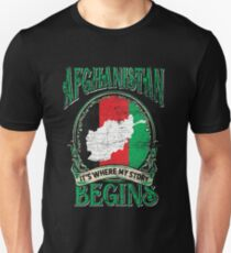 Afghanistan nationality Unisex T-Shirt