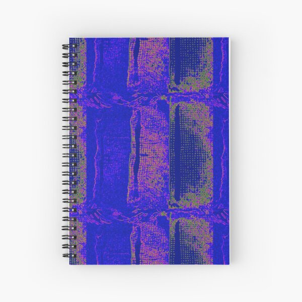 Neon Swimming Pool Spiral Notebook