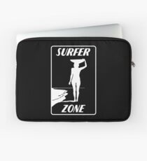 Surf Zone Surfergirl waves Laptop Sleeve