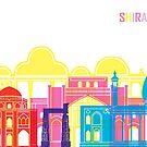 Shiraz-Skyline-Pop von paulrommer