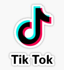 tik tok Sticker