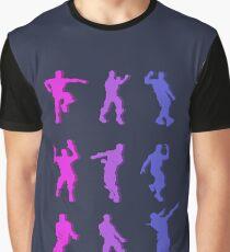 Fortnite Emote Dances Graphic T-Shirt