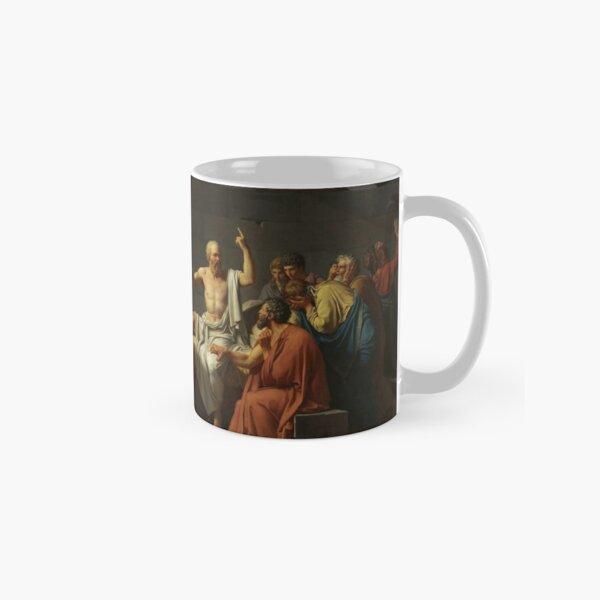 The Death of Socrates - Jacques-Louis David Classic Mug