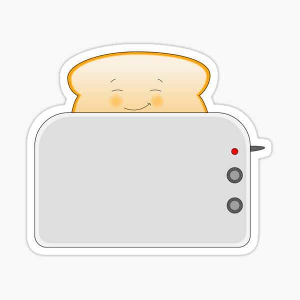 Toastie Sticker
