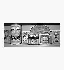 spice tins Photographic Print