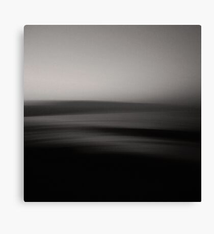 Perfect wave - black-white Canvas Print