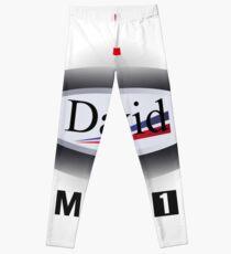 F1 Mclaren David Coulthard design  Leggings
