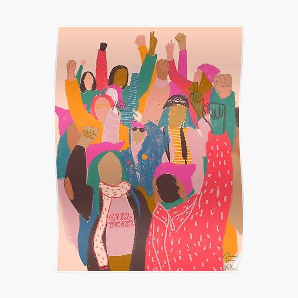 Marche des femmes - Poster