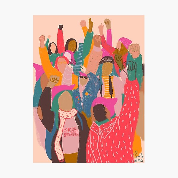 Women's March -   Photographic Print