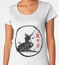 Samurai Fighting Women's Premium T-Shirt