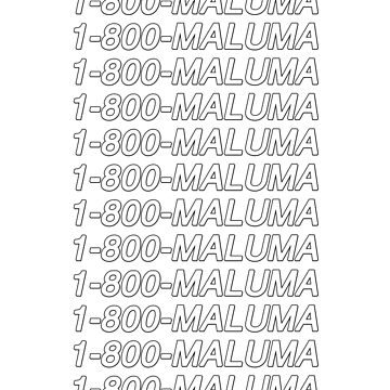 1-800-Maluma by amandamedeiros