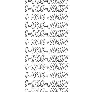 1-800-JIMIN by amandamedeiros