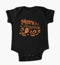Halloween T-Shirts & Gifts: Mommy's Little Spook One Piece - Short Sleeve
