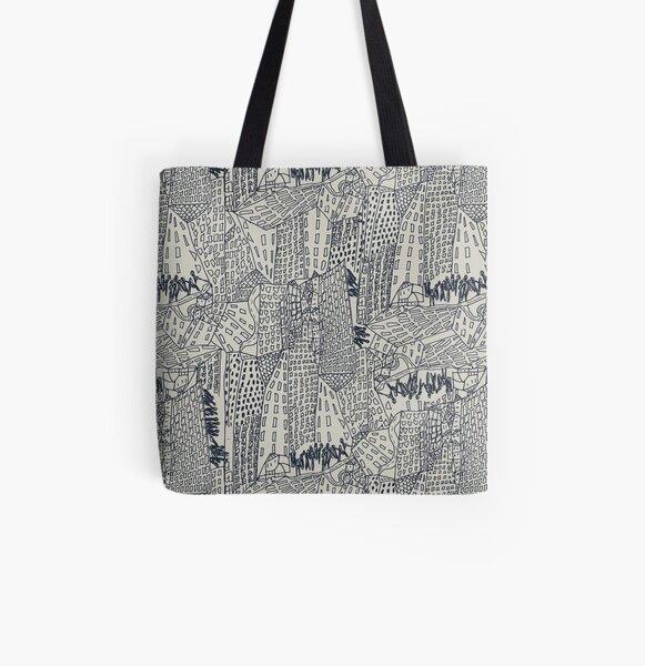 Big City Love All Over Print Tote Bag