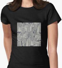 Big City Love Tailliertes T-Shirt