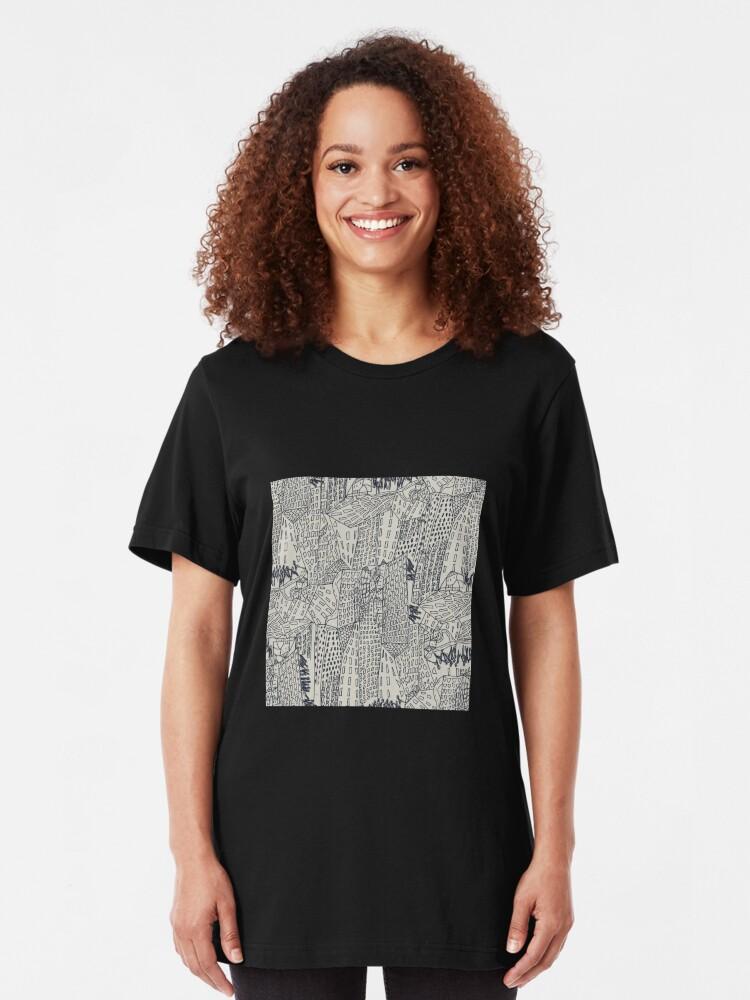 Alternative Ansicht von Big City Love Slim Fit T-Shirt