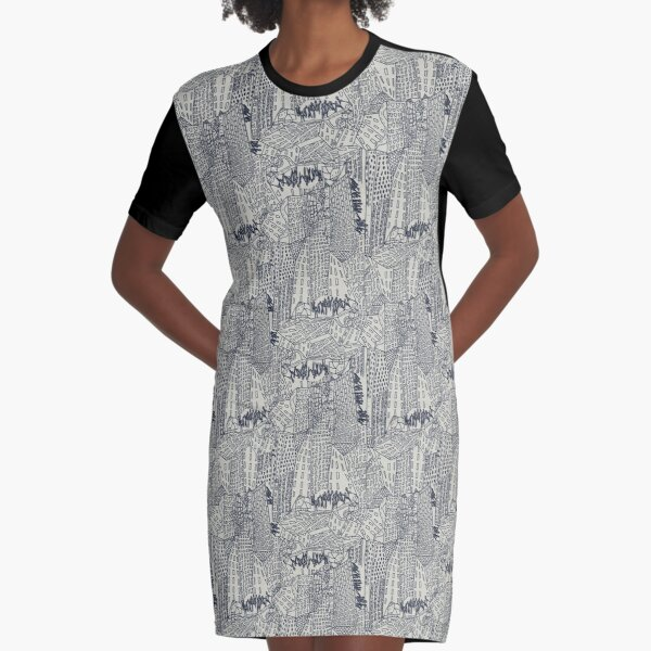 Big City Love Graphic T-Shirt Dress