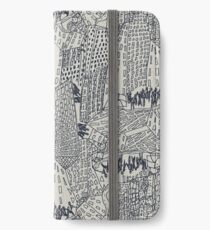 Big City Love iPhone Flip-Case/Hülle/Klebefolie