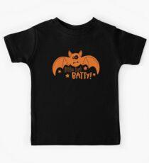 Halloween T-Shirts & Gifts: Little Bit Batty Kids Tee