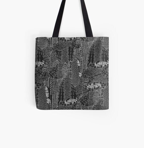 new York All Over Print Tote Bag