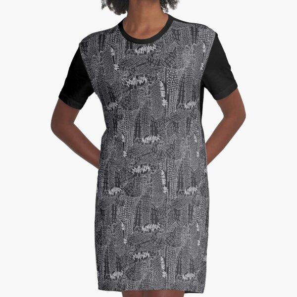 new York Graphic T-Shirt Dress