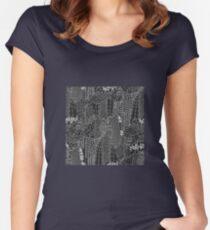 New York Tailliertes Rundhals-Shirt