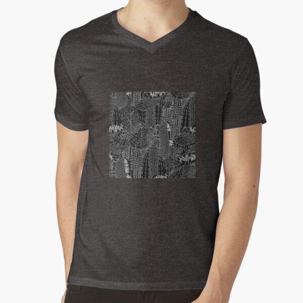 new York V-Neck T-Shirt
