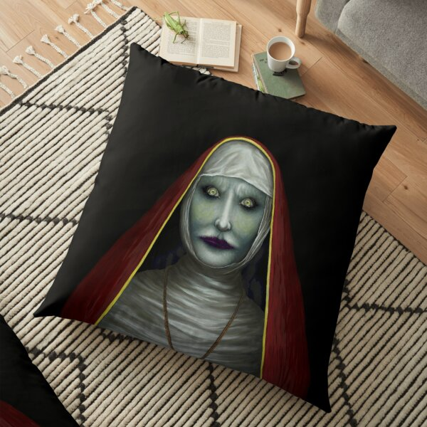 "The ""Gorgeous"" NUN (2) Floor Pillow"