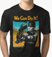 We Can Do It (Furiously) Tri-blend T-Shirt