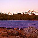 Alpenglow in Indian Peaks Wilderness by Bryce Bradford