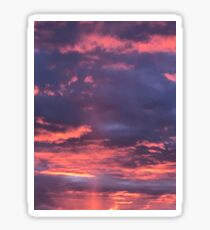 Cotton Candy Sunrise In The Clouds Sticker