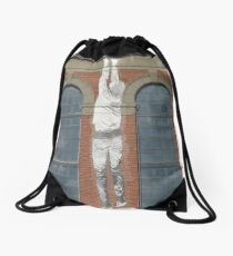 Wall Art, The Substation (Newport) Drawstring Bag