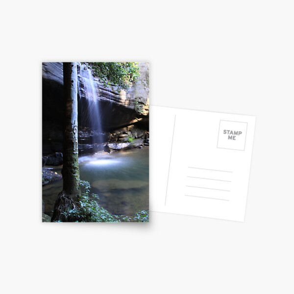 Buderim Waterfall QLD  Postcard