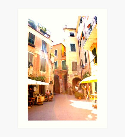 Magical Monterosso Art Print