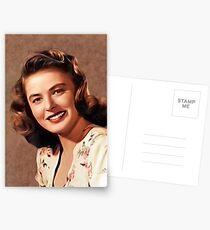 Ingrid Bergman, Vintage Hollywood Legende Postkarten
