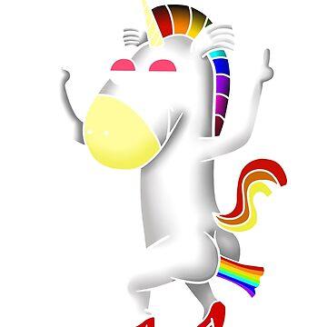 Unicorn T-shirts Rainbow Unicorn For April by giftforfriend
