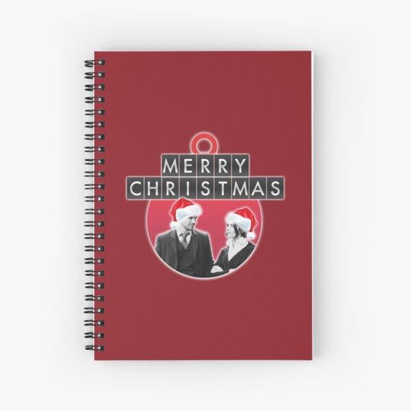 A Lyatt Christmas Spiral Notebook