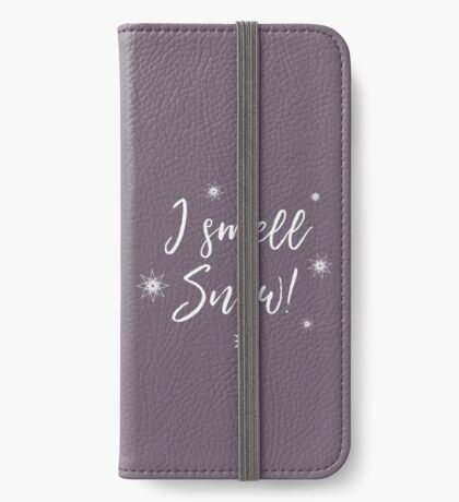 I smell Snow iPhone Wallet