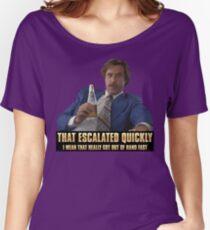 Escalation Women's Relaxed Fit T-Shirt