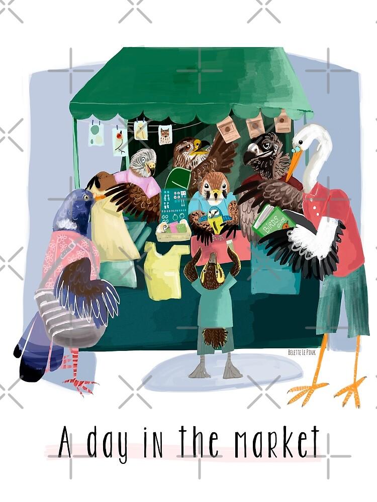 A day in the market de belettelepink