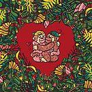 Monkey's love by nokhookdesign