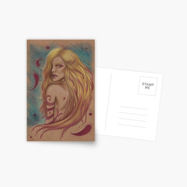 Stained Postcard