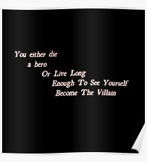 Quote from 'Naruto Shippuden' by Obito Uchiha Poster