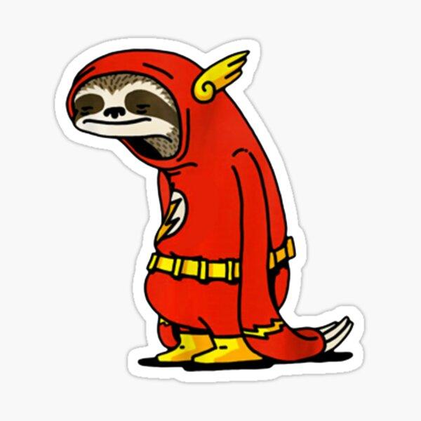 Flash Sloth Sticker