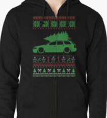A4 S4 RS4 B5 Avant Christmas Ugly Sweater XMAS Zipped Hoodie