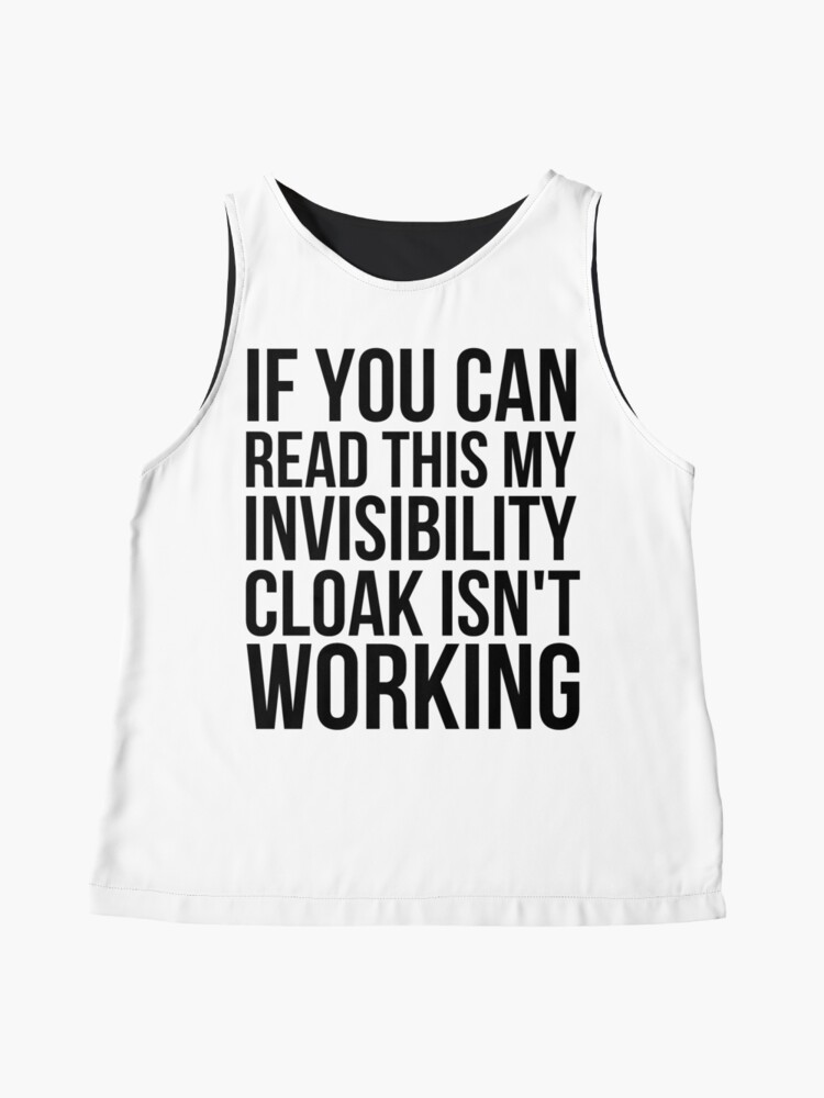 Alternate view of Can you read this? Sleeveless Top