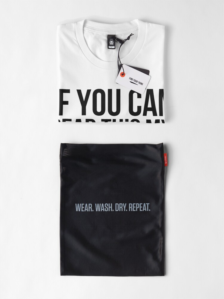 Alternate view of Can you read this? Premium T-Shirt